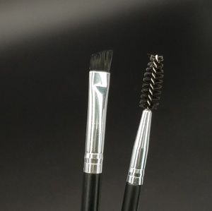 Eyebrow brush set